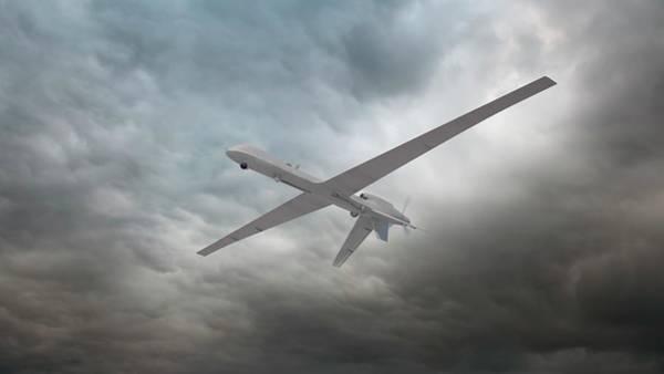 Reconnaissance Photograph - Unmanned Drone by Andrzej Wojcicki