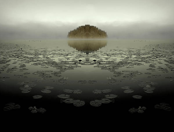Islands Photograph - Unreal Island by Allan Wallberg