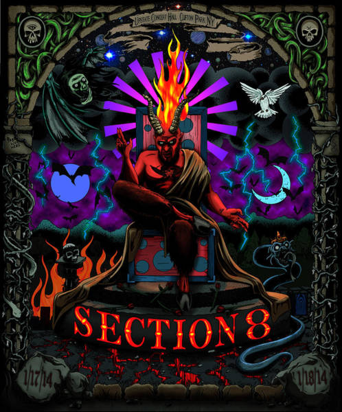 Witchcraft Digital Art - Unreleased Section 8 Poster by Steve Hartwell