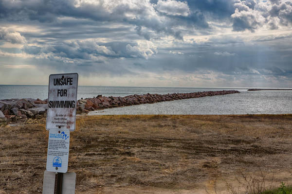 Photograph - Unsafe For Swimming by Ricky L Jones