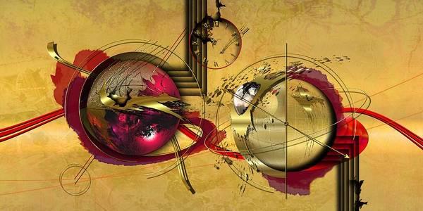 Red Planet Digital Art - Unstable Stability by Franziskus Pfleghart