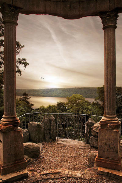 Gazebo Photograph - Untermyer Views by Jessica Jenney