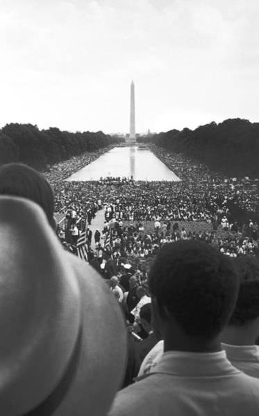 Wall Art - Photograph - 1963 March On Washington by Underwood Archives