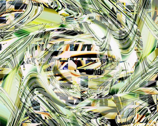 Digital Art - The Center Eye by rd Erickson