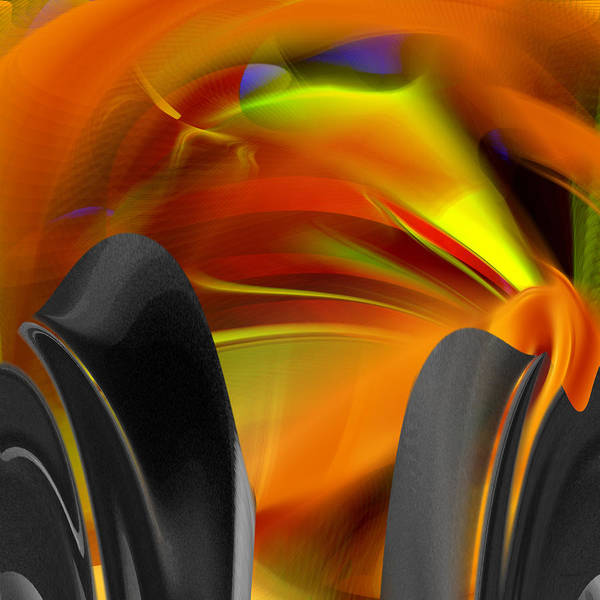 Digital Art - Abstract Number Twelve by rd Erickson