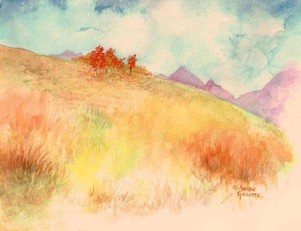 Untitled Autumn Piece Art Print