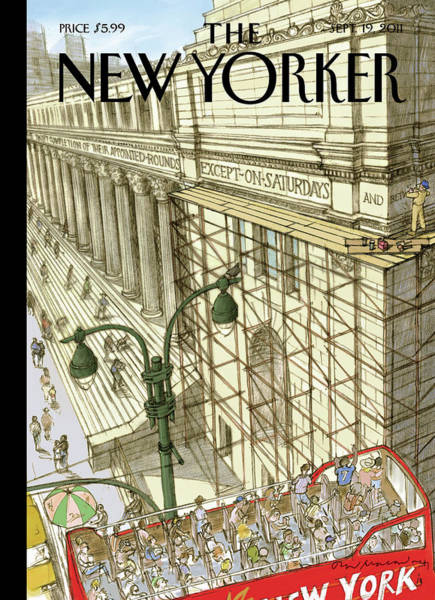 New Yorker September 19th, 2011 Art Print