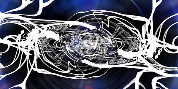 Digital Art - Spider Work by rd Erickson