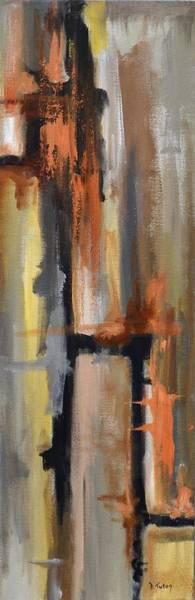 Painting - Autumn Abstract by Donna Tuten