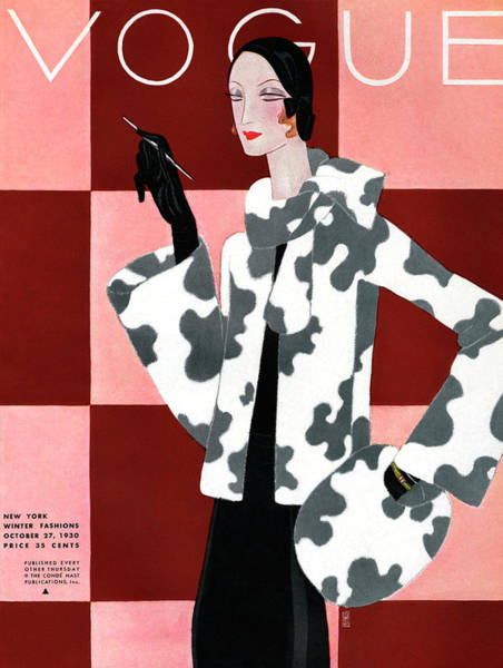 Photograph - Vogue October 27th, 1930 by Eduardo Garcia Benito