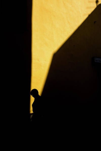 Silhouette Photograph - Untitled by Enrico Finotti Re