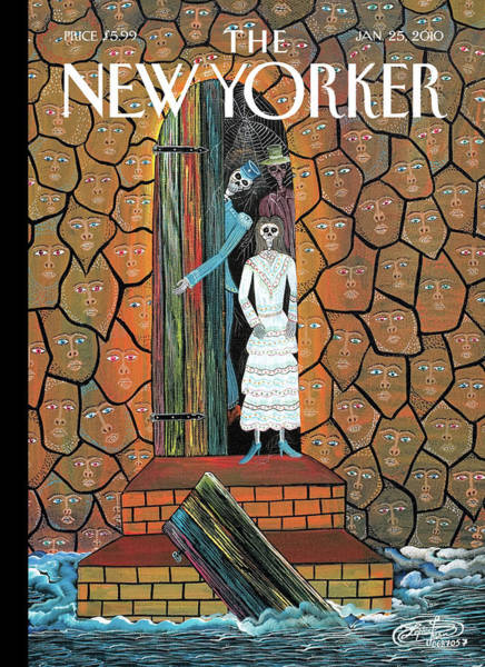 Painting - New Yorker January 25th, 2010 by Frantz Zephirin