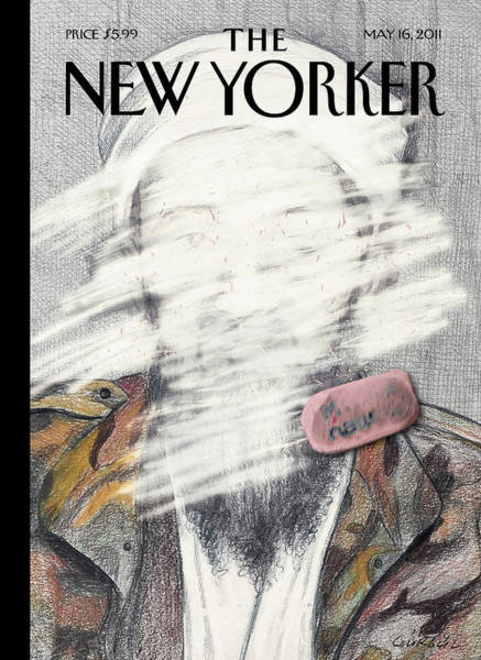 Obama Painting - New Yorker May 16th, 2011 by Gurbuz Dogan Eksioglu