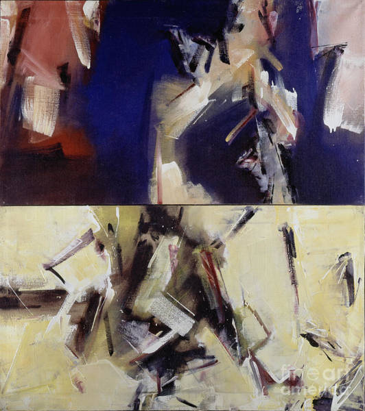 Painting - Untitled II '91 by Ritchard Rodriguez