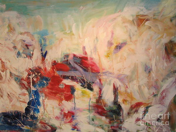 Wall Art - Painting - untitled II by Fereshteh Stoecklein