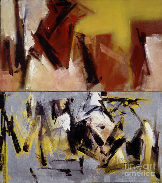 Painting - Untitled IIi '91 by Ritchard Rodriguez