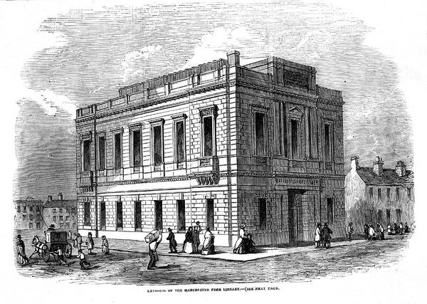 Manchester Drawing - Untitled by  Illustrated London News Ltd/Mar