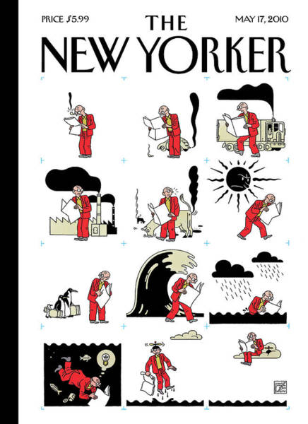 Idea Painting - New Yorker May 17th, 2010 by Joost Swarte