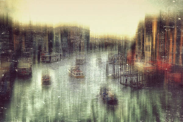 Gondola Photograph - Untitled by Krisztina Lacz
