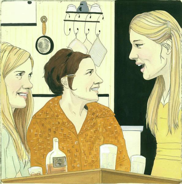 News Digital Art - New Yorker February 25th, 2008 by Larissa Tomlin