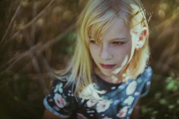 Blonde Photograph - Untitled by Marina Geleva
