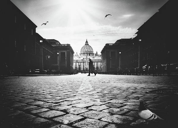 Old Church Photograph - Untitled by Massimiliano Mancini
