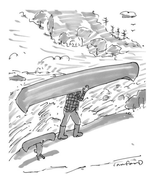 2016 Drawing - New Yorker October 17th, 2016 by Michael Crawford