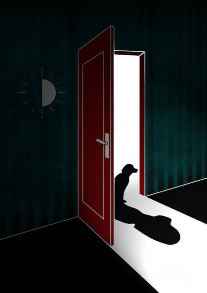 Shadow Digital Art - Untitled No.02 by Geek N Rock