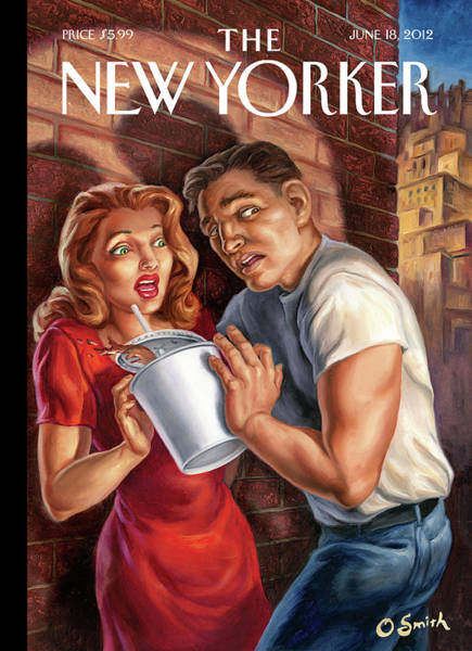 New Yorker June 18th, 2012 Art Print