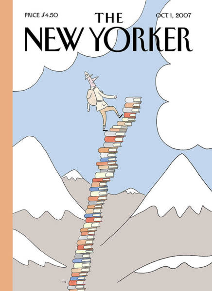 Book Painting - New Yorker October 1st, 2007 by Philippe Petit-Roulet
