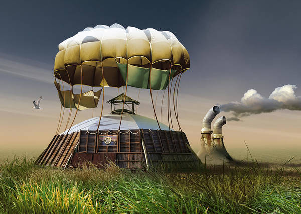 Air Balloon Wall Art - Photograph - Untitled by Radoslav Penchev