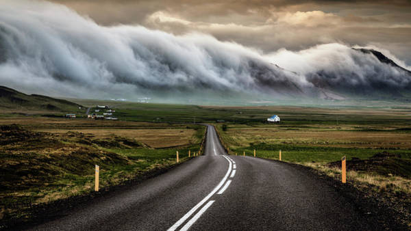 Cloudy Photograph - Untitled by Sus Bogaerts