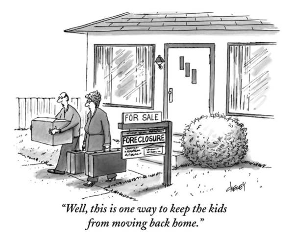 Sales Drawing - Well, This Is One Way To Keep The Kids by Tom Cheney