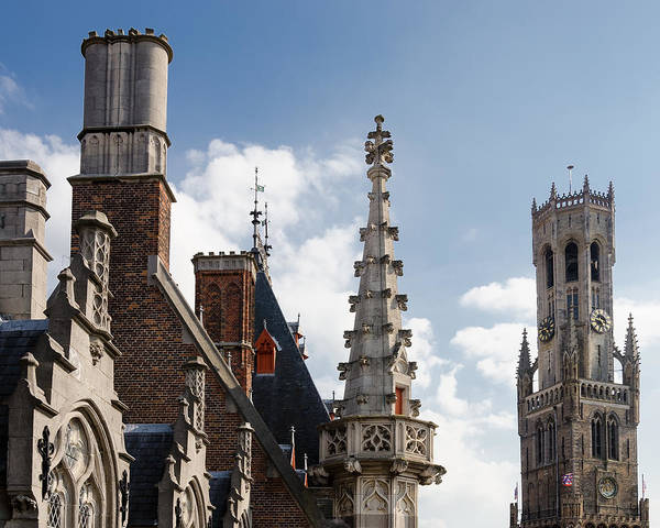 Photograph - Unusual Brugge by Paul Indigo