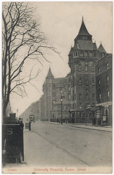 Wall Art - Photograph - Unversity Hospital, Gower Street by Mary Evans Picture Library