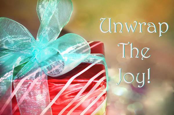Photograph - Unwrap The Joy by Paulette B Wright