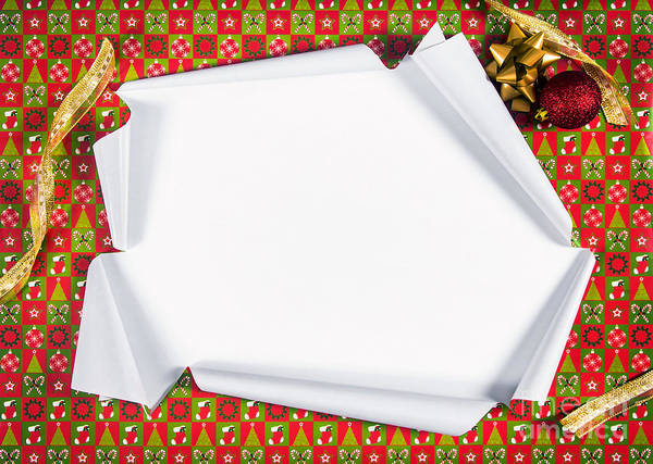 Casing Wall Art - Photograph - Unwrapping Gifts by Carlos Caetano