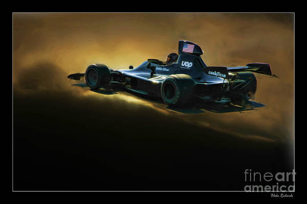 Uop Shadow F1 Car Art Print