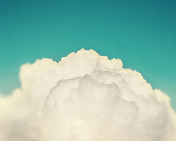 Unisex Photograph - Up Above The Clouds by Amy Tyler