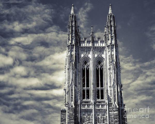 Duke University Photograph - Up by Emily Kay