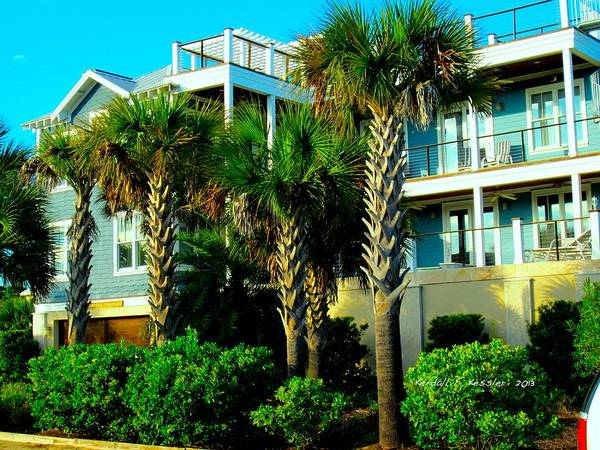 Photograph - Up High At Isle Of Palms by Kendall Kessler