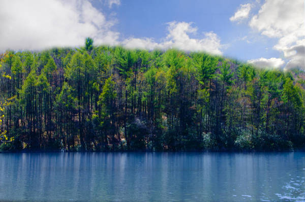 Pocono Mountains Wall Art - Photograph - Up On A Mountain Lake by Bill Cannon