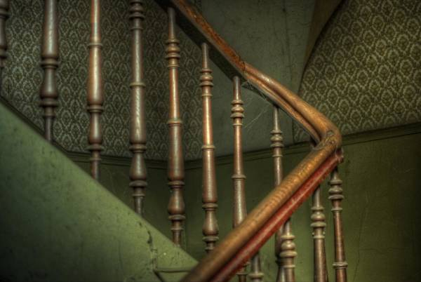 Wall Art - Digital Art - Up Stairs  by Nathan Wright