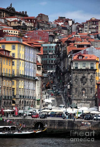 Photograph - Up The Hill In Porto by John Rizzuto