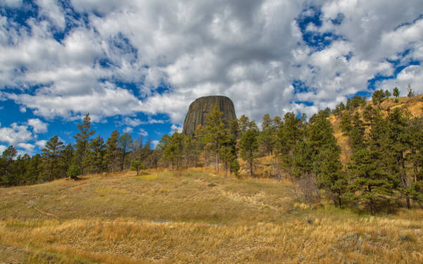 Photograph - Up To Devils Tower by John M Bailey