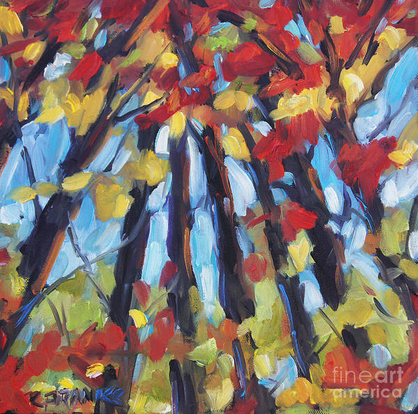 Art In Canada Painting - Up To The Light By Prankearts by Richard T Pranke