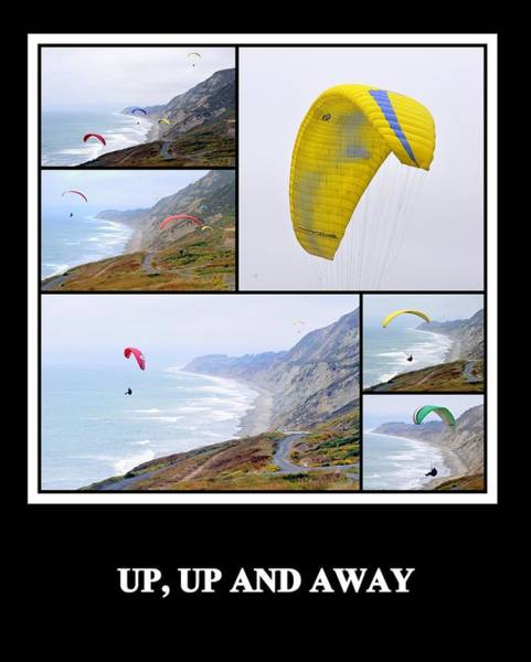 Photograph - Up Up And Away by AJ  Schibig