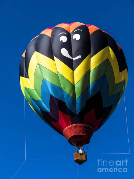 Photograph - Up Up And Away In My Beautiful Balloon by Edward Fielding