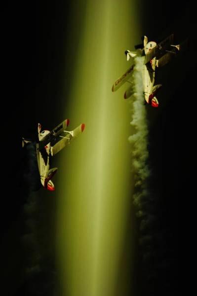 Aerobatics Wall Art - Photograph - Up Up And Away by Paul Job