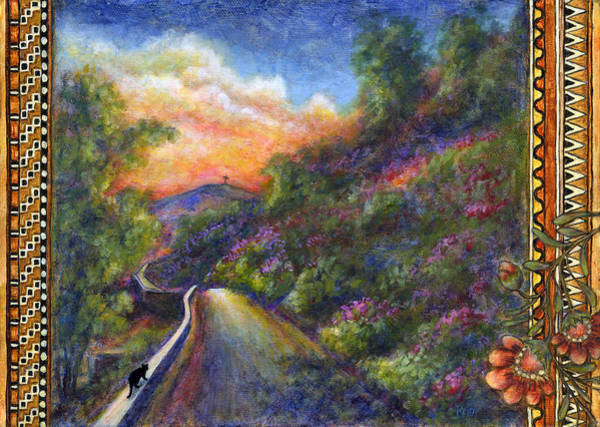 Painting - Uphill by Retta Stephenson